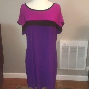 Rich purple dress